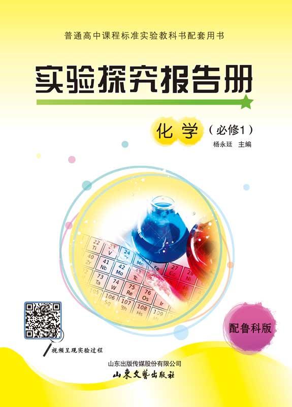 高中实验探究报告册化学(鲁科版必修1)