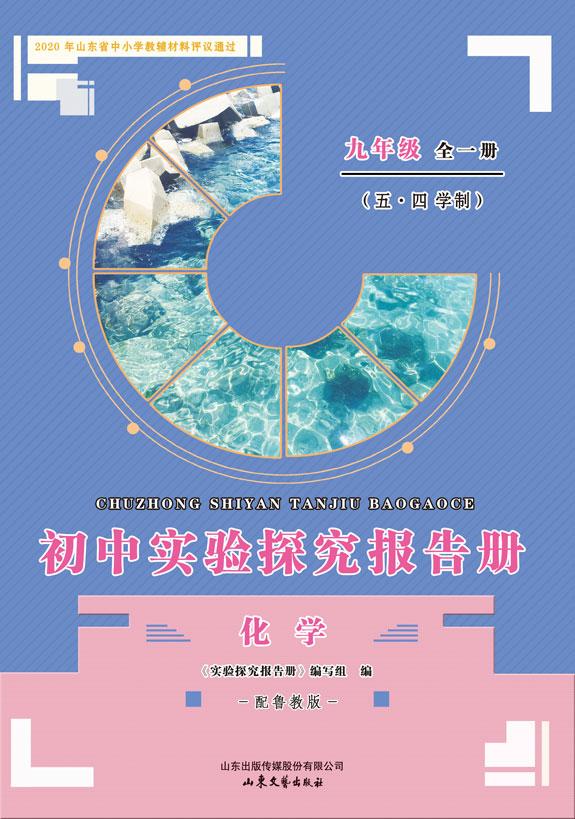 初中实验探究报告册 化学(鲁教版)(九年级全一册)